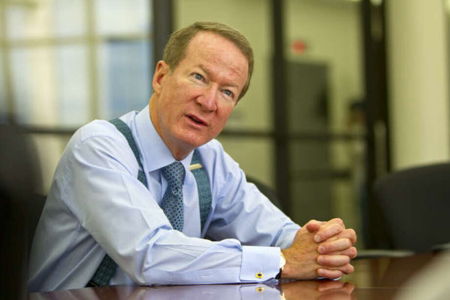 The U.S. ambassador to Colombia, William Brownfield, says Colombia is appearing less risky than some other nations far richer in oil resources. Photo: Karen Warren :, Chronicle