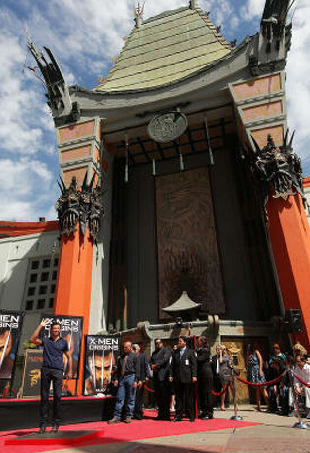 Grauman's Chinese Theatre is a popular attraction in Los Angeles. Photo: Vince Bucci, Getty Images