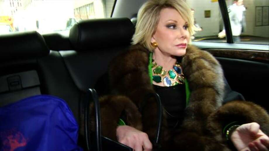 Joan Rivers is one of the hardest working stand-up comics in the business. The documentary Joan Rivers: A Piece of Work captures her in some very unguarded moments. Photo: IFC FILMS