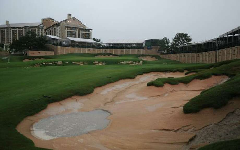 Golfer Greg Norman designed the TPC San Antonio AT&T Oaks Course, which opened in February. Photo: Marc Feldman, Getty Images