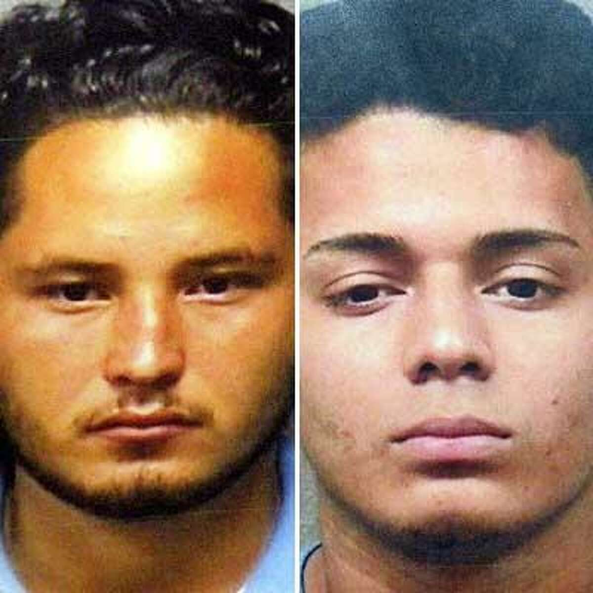 Suspect Melvin Alvarado, 22, left, was deported twice. Another suspect, Jonathan Ariel Lopez-Torres, 18, is a lawful permanent resident from Honduras.