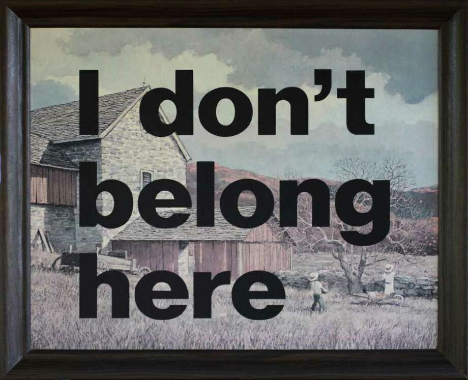 "Gregor Wynnyczuk's ""I Don't Belong Here,"" 2011. (Courtesy the artist)"