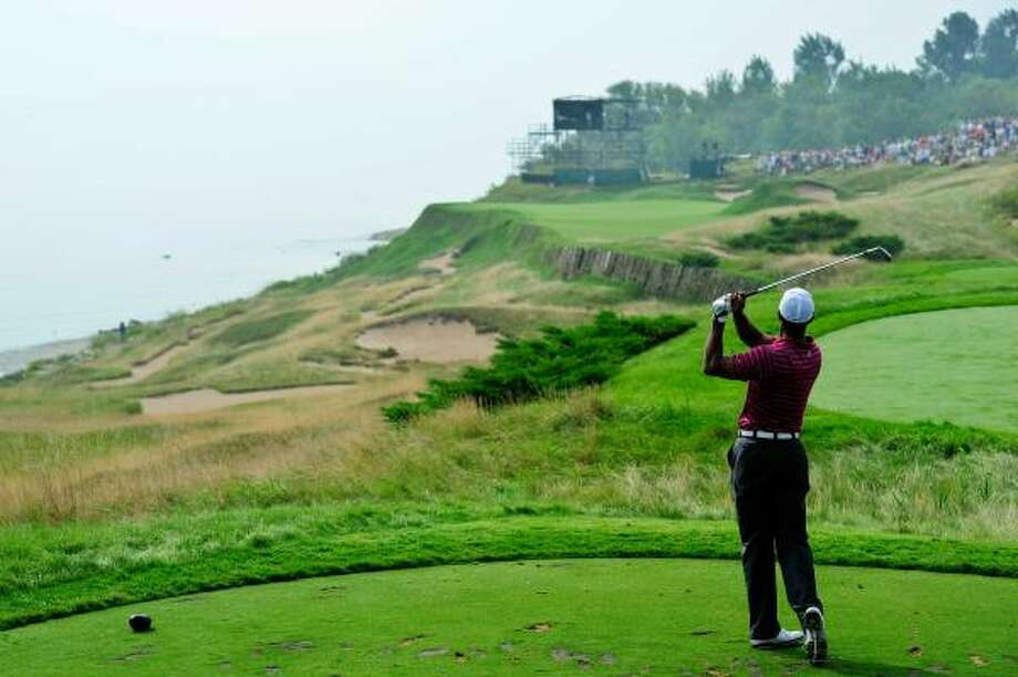 Tiger Woods faces the unenviable task of trying to rediscover his game while playing the difficult Whistling Straits course in a major championship. Photo: Stuart Franklin, Getty Images