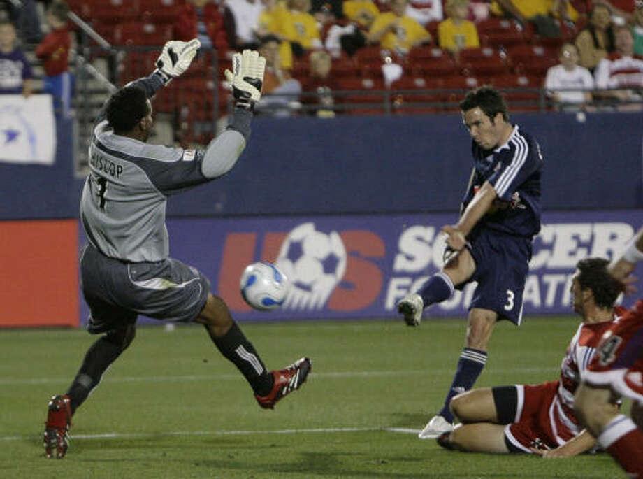 Hunter Freeman, right, spent the last two seasons in the Norwegian league, but the Red Bulls held his MLS rights. Photo: Matt Slocum, AP