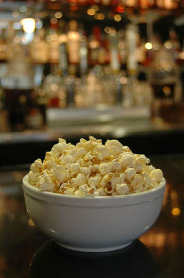 Popcorn popped in duck fat from Branch Water Tavern. Photo: KIMBERLY PARK
