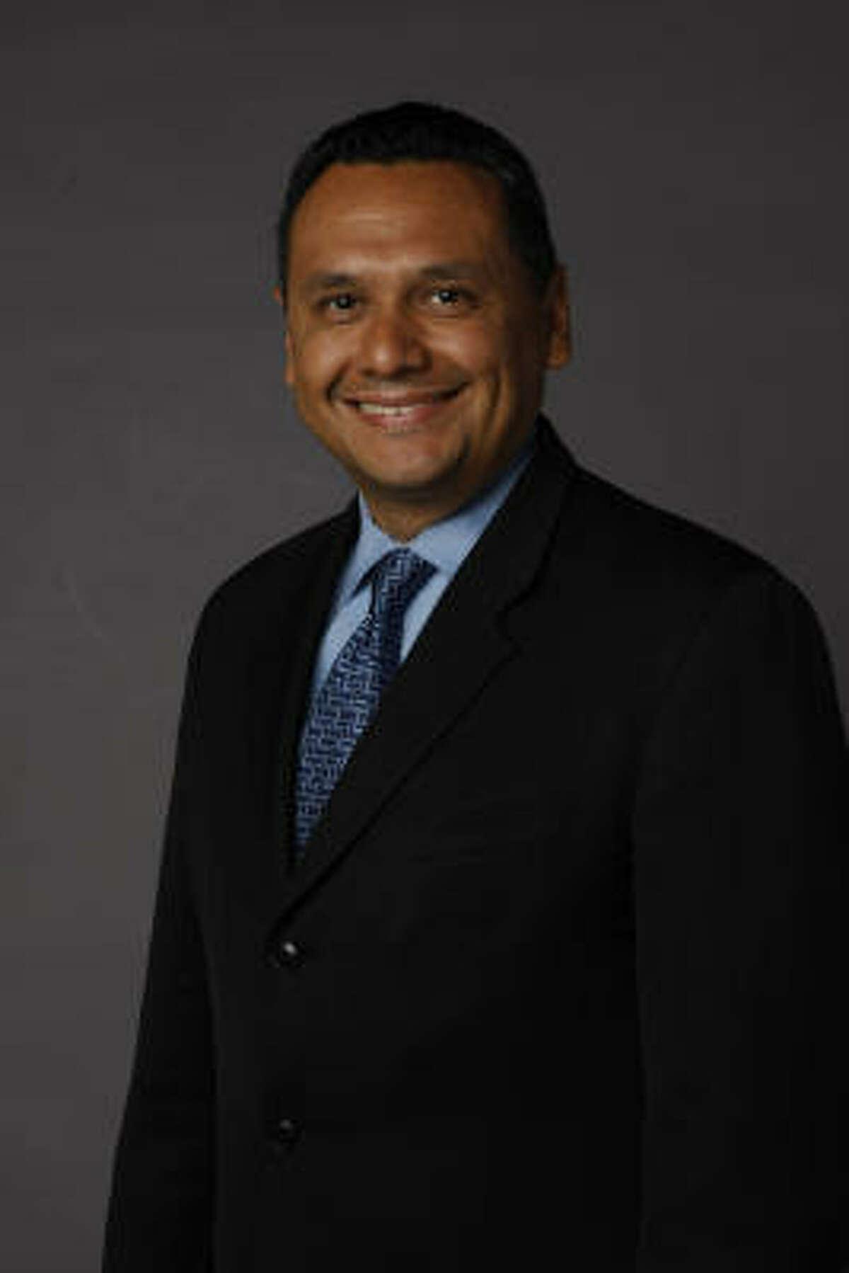 District H Houston city councilman Ed Gonzalez