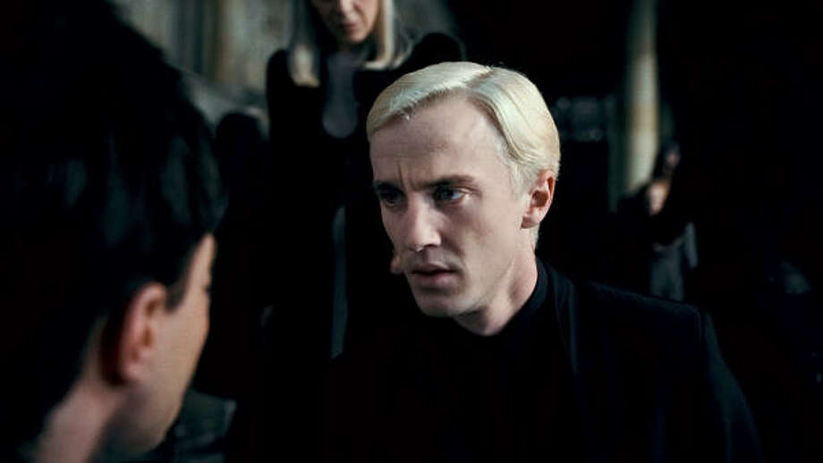 Tom Felton as Draco Malfoy in Harry Potter and the Deathly Hallows - Part 1. Photo: Warner Bros.