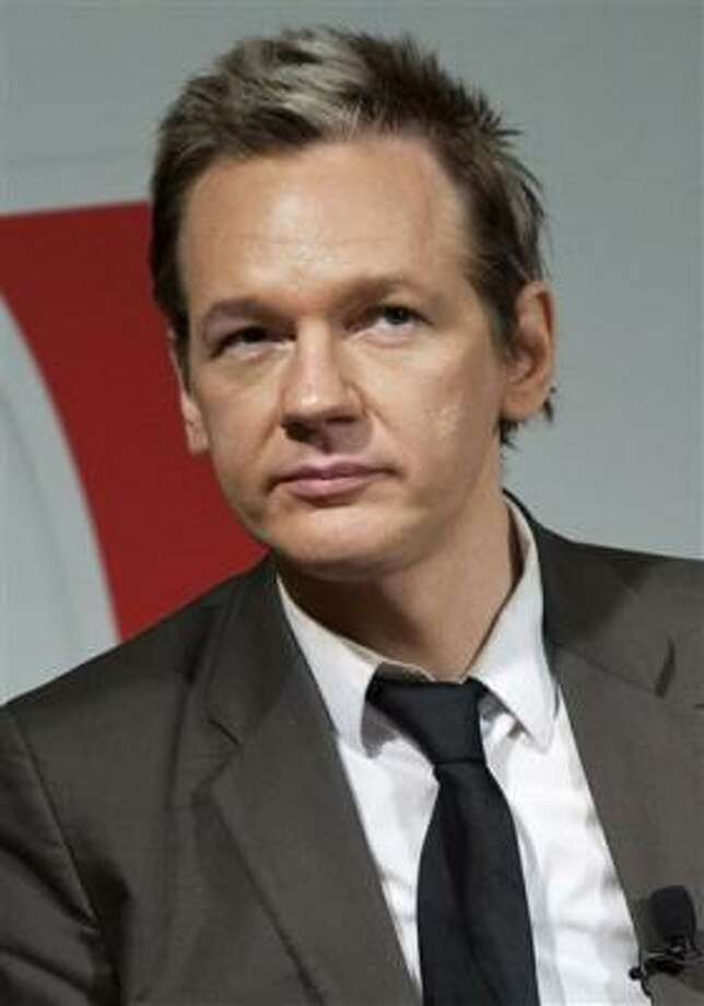 WikiLeaks founder Julian Assange is shown earlier this year in Stockholm, Sweden. Photo: Bertil Ericson, AP
