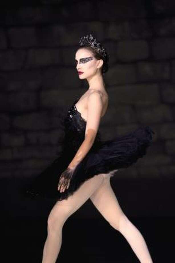 "Natalie Portman is shown in a scene from ""Black Swan."" Photo: Niko Tavernise, AP"