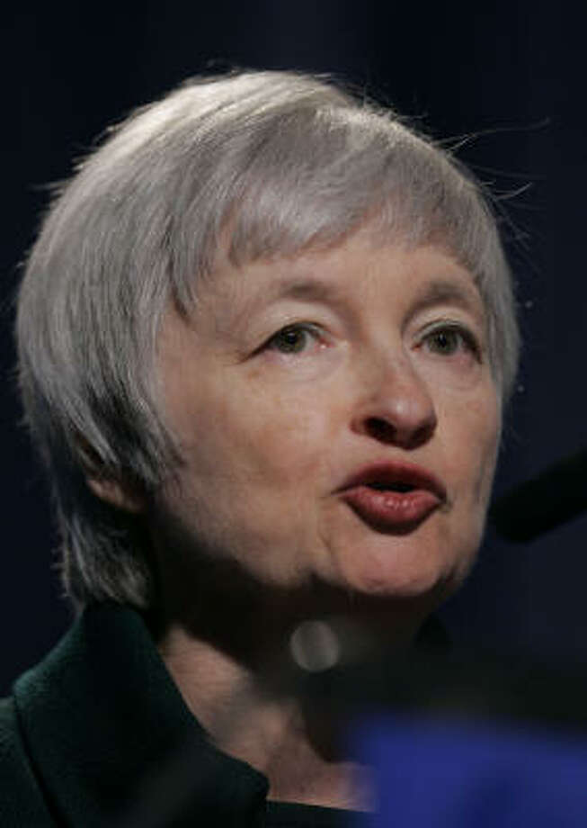 Janet Yellen, president and CEO of the Federal Reserve Bank of San Francisco. Photo: Paul Sakuma, AP