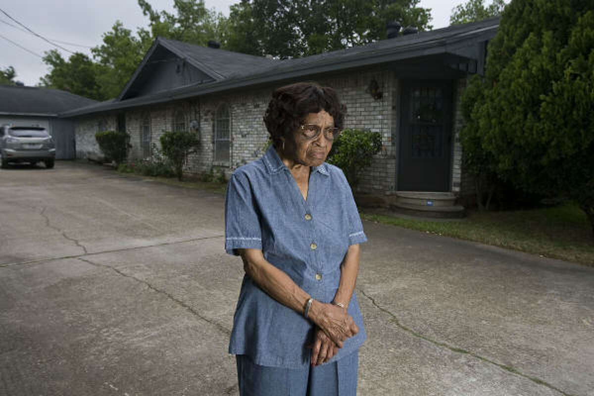 Bernice Britton, 81, worry that relocating older people to new houses will mean octogenarians like herself will suddenly face mortgages while on fixed incomes.