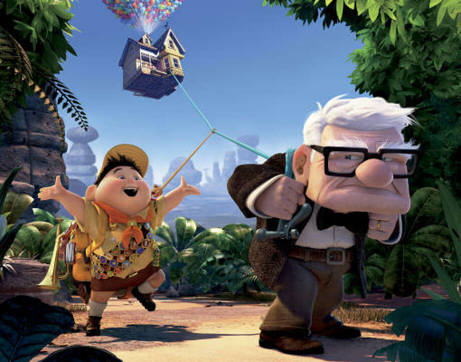 Ed Asner voiced the role of the grumpy old man in the animated film Up. Photo: Disney / Pixar