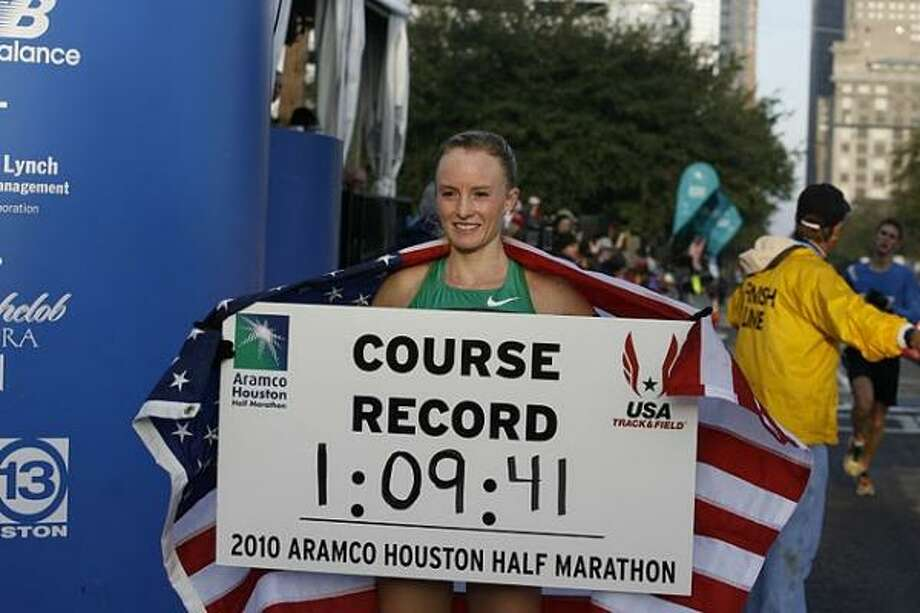 Shalane Flanagan had no trouble with the longer distance after medaling in the 10K at the 2008 Summer Olympics. Photo: James Nielsen, Chronicle