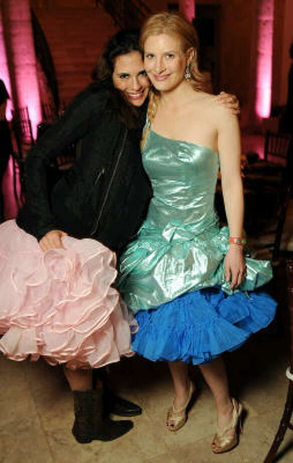 Amy Molina and Molly Gochman at the Debutantes Run Wild Gala Photo: Dave Rossman, For The Chronicle
