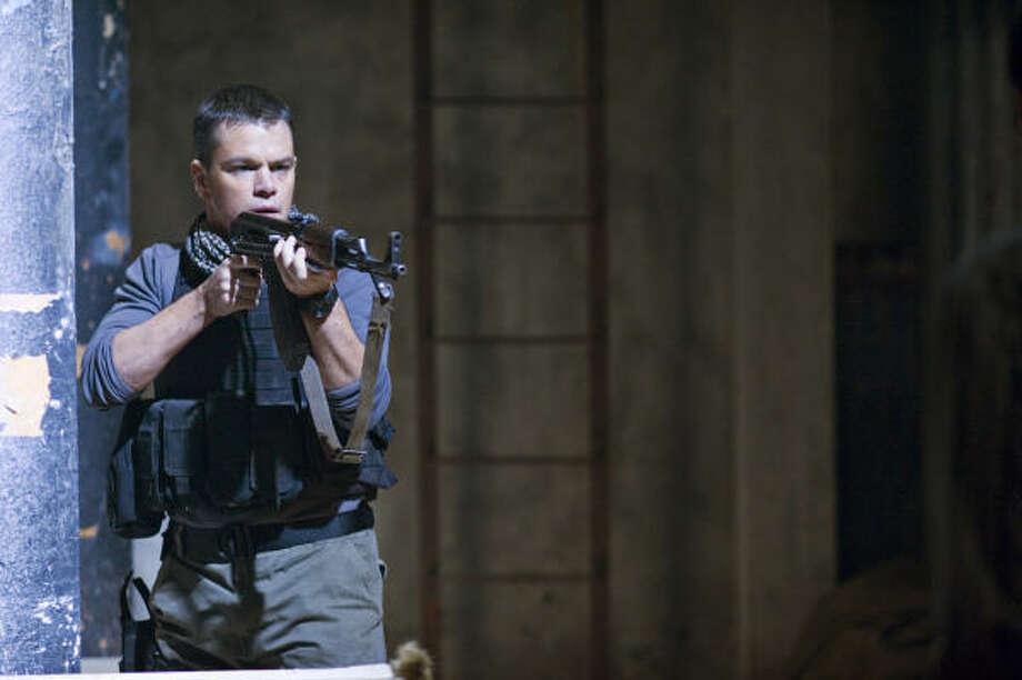 Matt Damon stars as an officer leading his men into lethal street battles. Photo: Jasin Boland