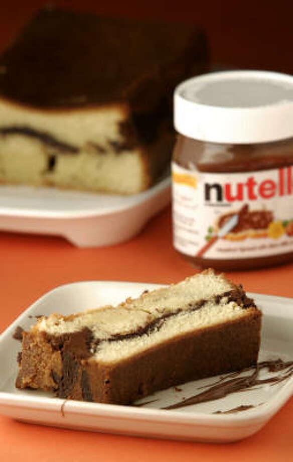 Nutella-Swirl Pound Cake. Photo: NICK De La TORRE:, Chronicle