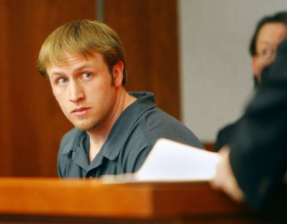 Ty Oliver McDowell, of the Casper area, allegedly told investigators that he had corresponded with a person he thought was the woman inviting him to rape her. Officers say McDowell was actually talking to the woman's ex-boyfriend, who's accused of setting the woman up for the attack without her knowledge. Photo: Dan Cepeda, Associated Press
