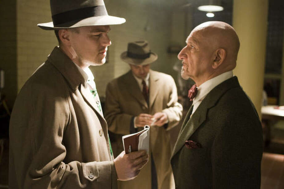 Leonardo DiCaprio, from left, Mark Ruffalo and Ben Kingsley star in the thriller Shutter Island. Photo: Andrew Cooper, Paramount Pictures