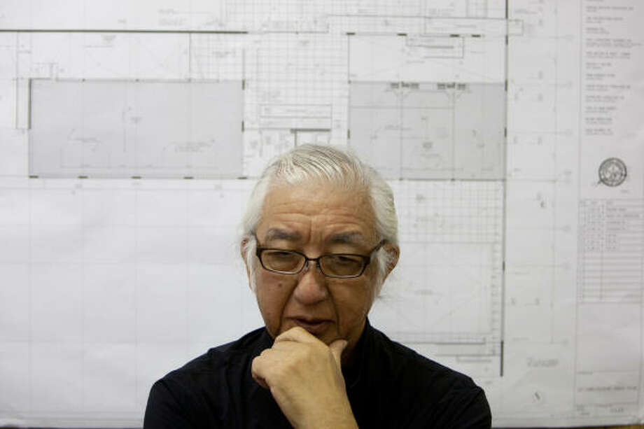 Yoshio Taniguchi designed the Asia Society Texas Center building. Photo: Johnny Hanson, Houston Chronicle