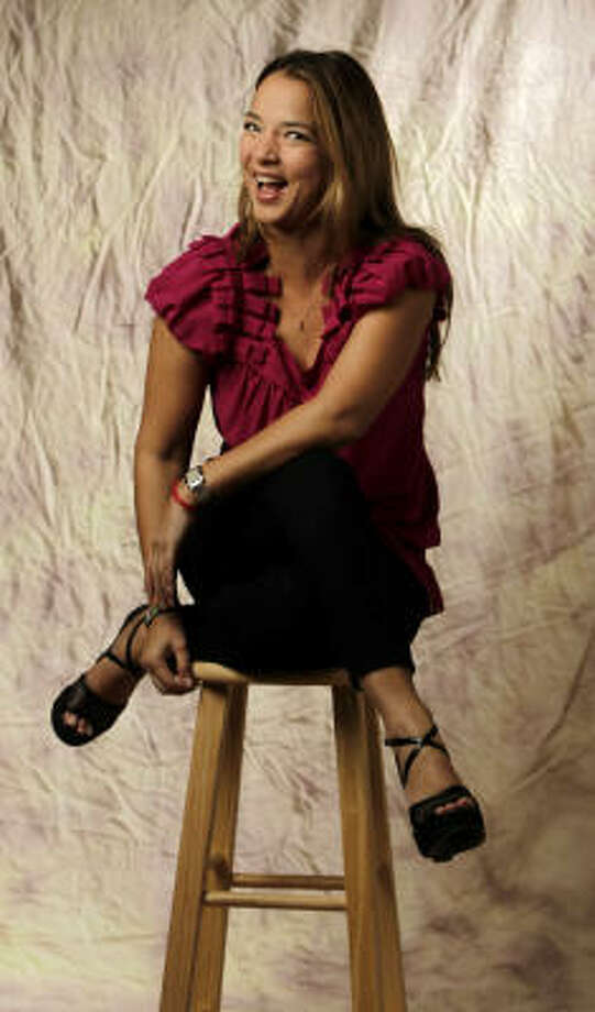 Puerto Rican actress Adamari López, a breast cancer survivor, is touring the United States to talk about her experiences. Photo: Karen Warren, Chronicle