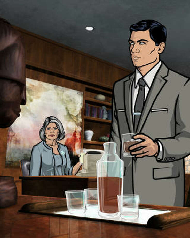 Archer focuses on an international spy organization run by the mom-and-son team of Malory Archer and Sterling Archer. Photo: FX