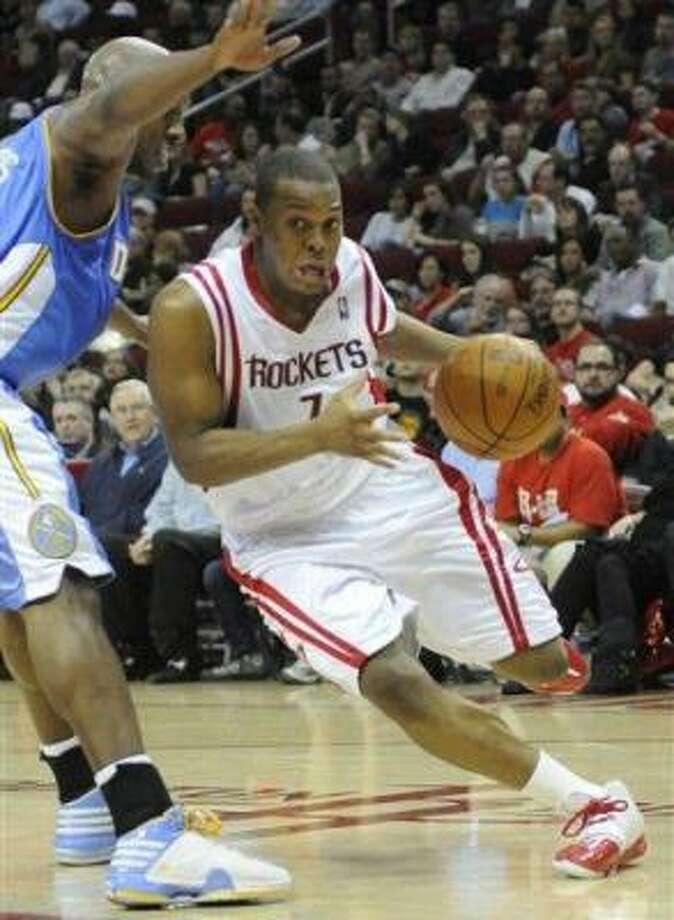 Rockets guard Kyle Lowry averaged 9.1 points and 4.5 assists last season. Photo: Pat Sullivan, AP