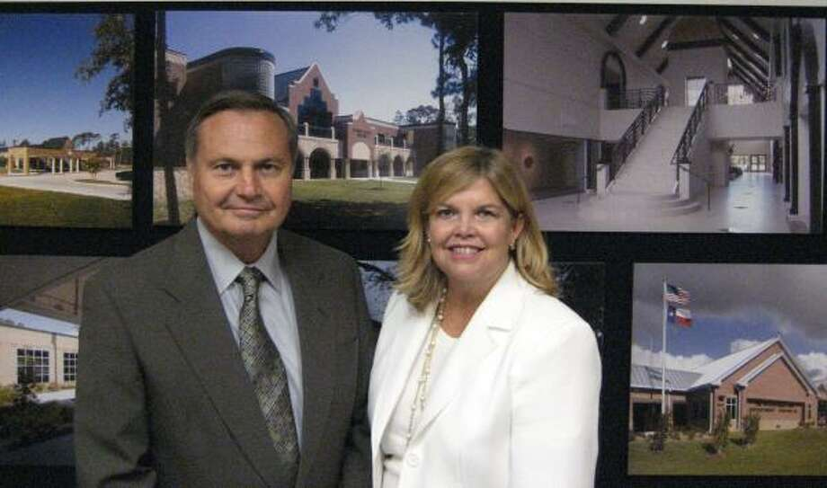 WORKING TOGETHER: Carl and Colene Joiner own Joiner Partnership Inc., which provides architectural services - Carl's area - and interior design, which is Colene's specialty. Photo: ALL