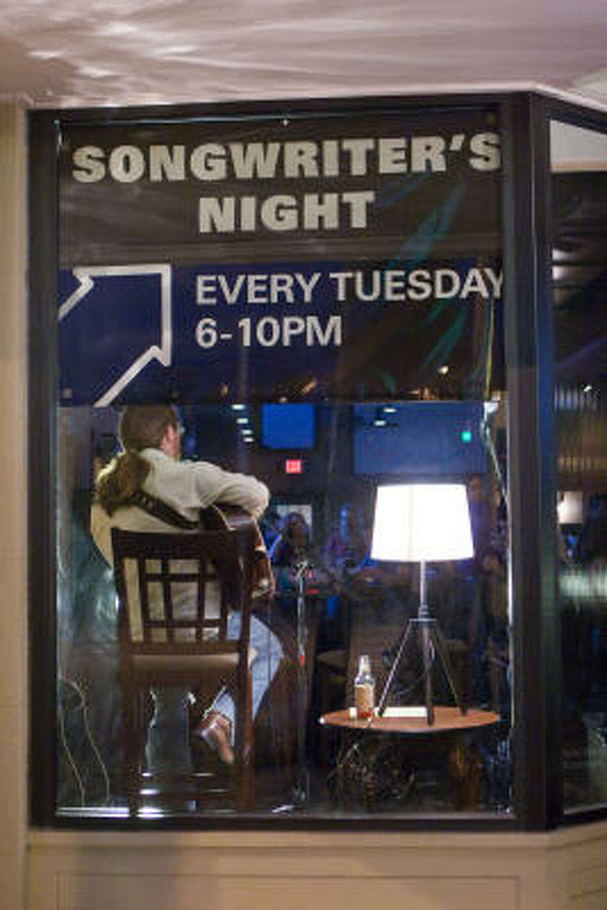 YOUR CHANCE: Songwriters are encouraged to cover their style of music before an audience.
