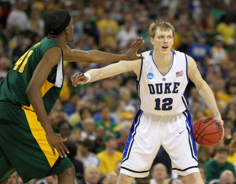 Kyle Singler decided to return for his senior season at Duke and an opportunity to claim back-to-back titles. Photo: Nick De La Torre, Chronicle