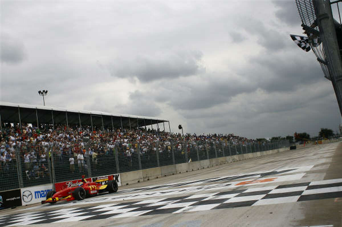 The Grand Prix of Houston was last held in 2007 at Reliant Park.