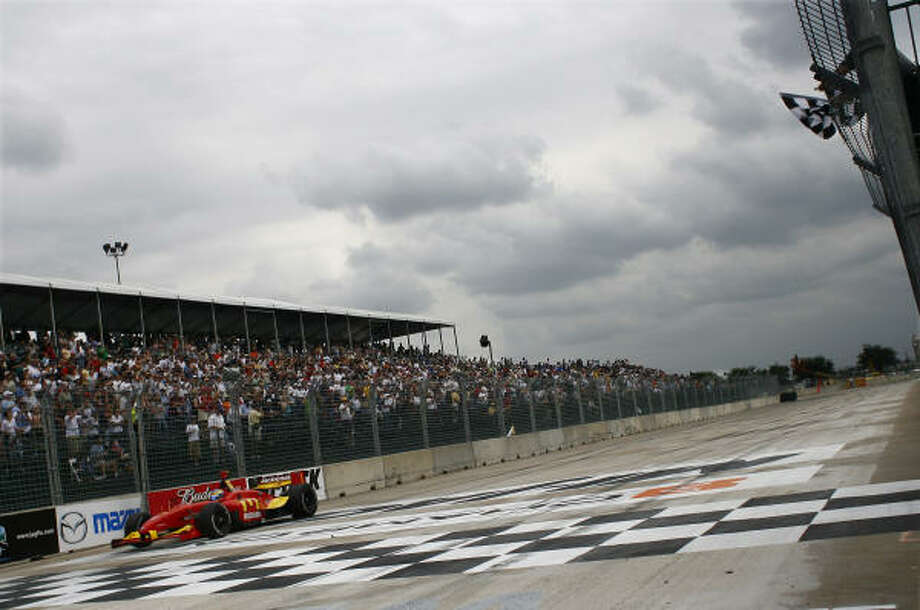 The Grand Prix of Houston was last held in 2007 at Reliant Park. Photo: Steve Ueckert, Houston Chronicle