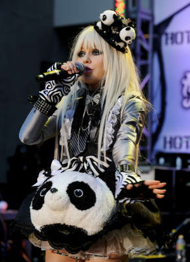 Kerli's Tea Party would have benefited from a more adventurous arrangement. Photo: Kevin Winter, Getty Images