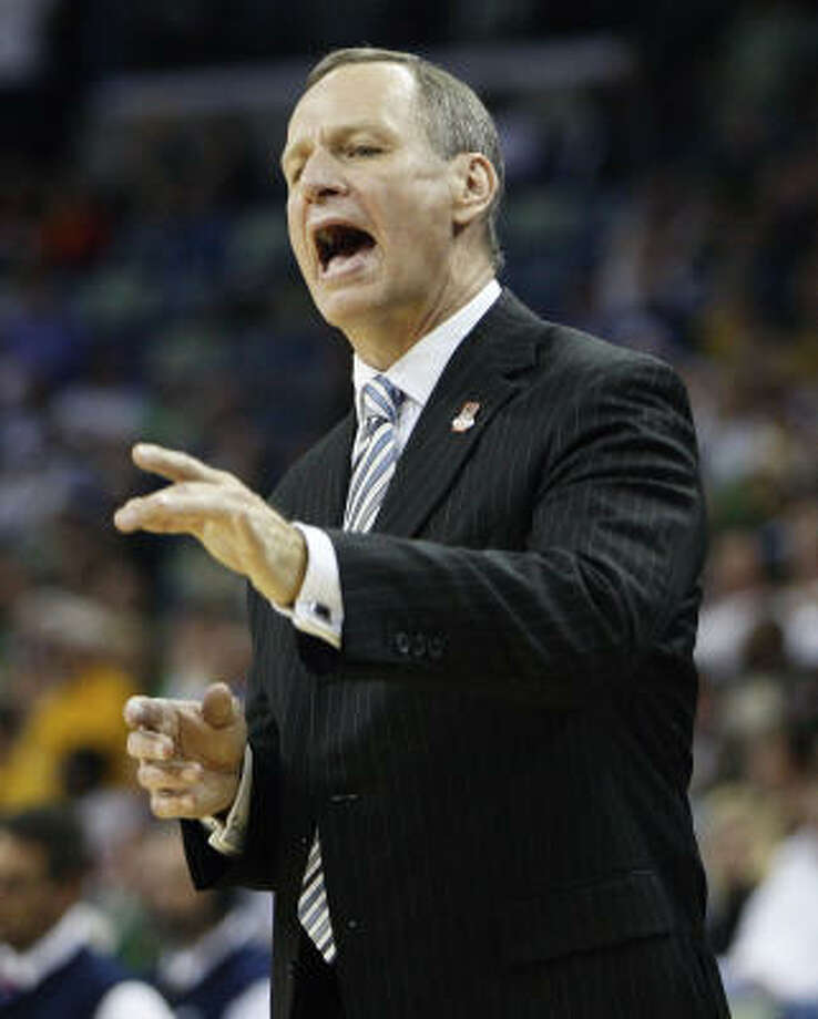 Hiring Sam Houston State head coach Bob Marlin may not make headlines, but it may be a good idea. Photo: John Bazemore, AP