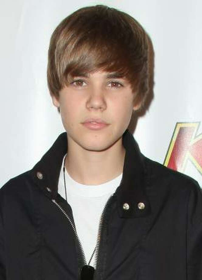 Justin Bieber's hairstyle is what teens are asking for. Photo: Angela Weiss, Getty Images
