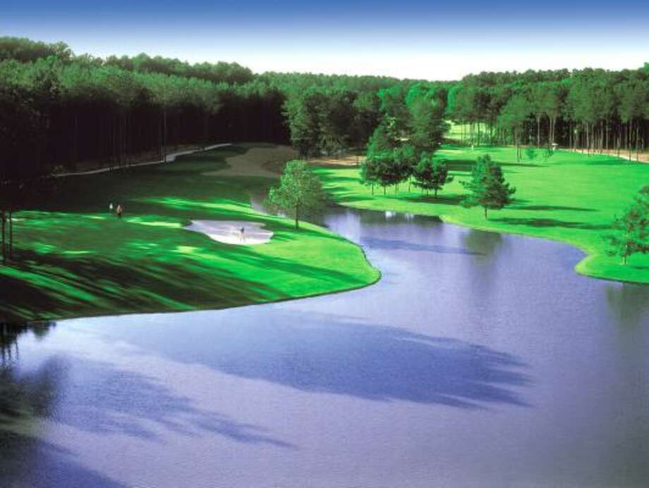 BEAUTIFUL BACKDROP: Lake Conroe, forests and Bentwater's golf courses create a stunning natural setting.