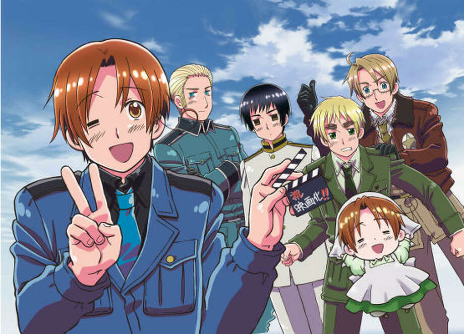 Hetalia: Axis Powers will screen Tuesday at Alamo Drafthouse West Oaks in Houston as part of Anime at the Alamo. Photo: FUNimation Entertainment