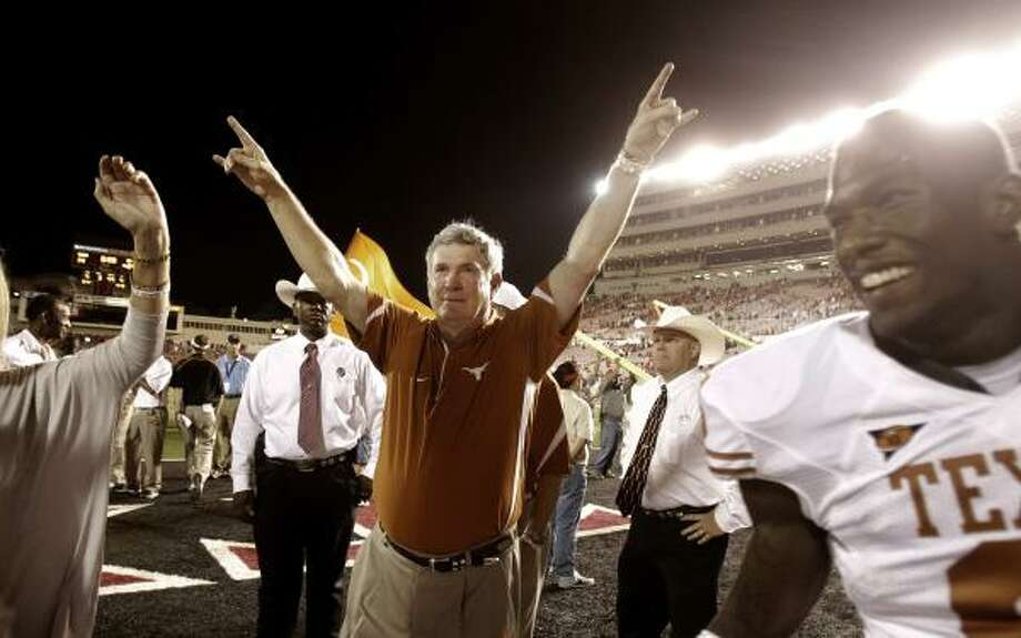 After beating Texas Tech, the Longhorns rank second in the nation in defense. Photo: LM Otero, AP