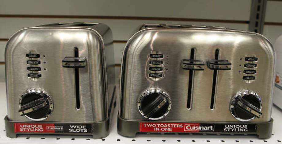 Who wants a toaster? That's right, no one. Photo: James Nielsen:, Chronicle