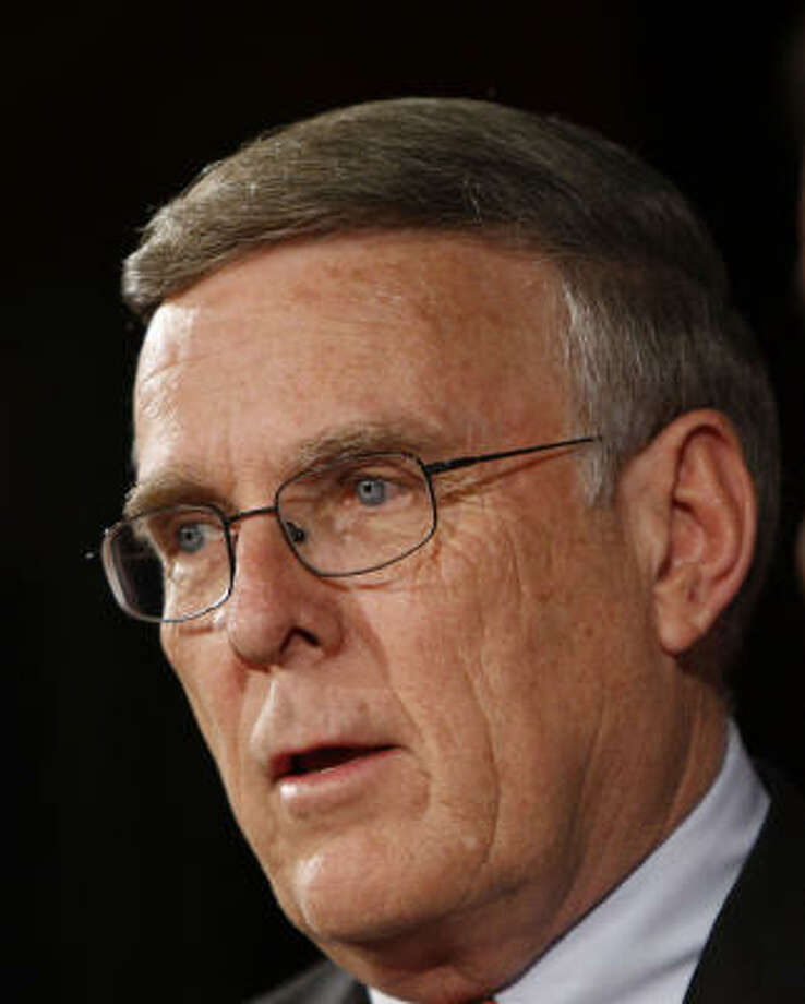 Sen. Byron Dorgan, D-N.D. said he will not seek re-election to the Senate in 2010, a surprise announcement that could give Republicans an opportunity to pick up a seat from the Republican-leaning state. Photo: Pablo Martinez Monsivais, Associated Press