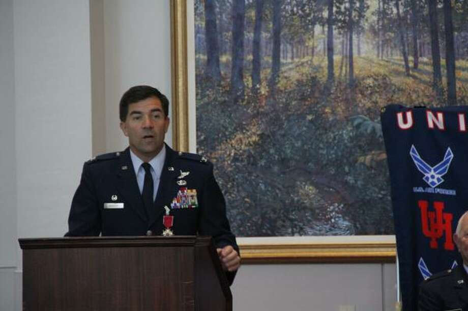 Col. Philip Bossert says the recession led to a boost in recruiting. Photo: University Of Houston