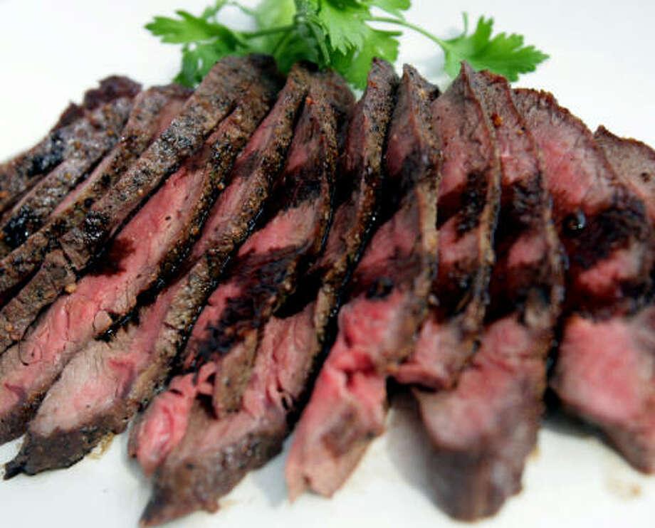 Flat Iron Steak With Balsamic Glaze Photo: REGINA H. BOONE :, DETROIT FREE PRESS