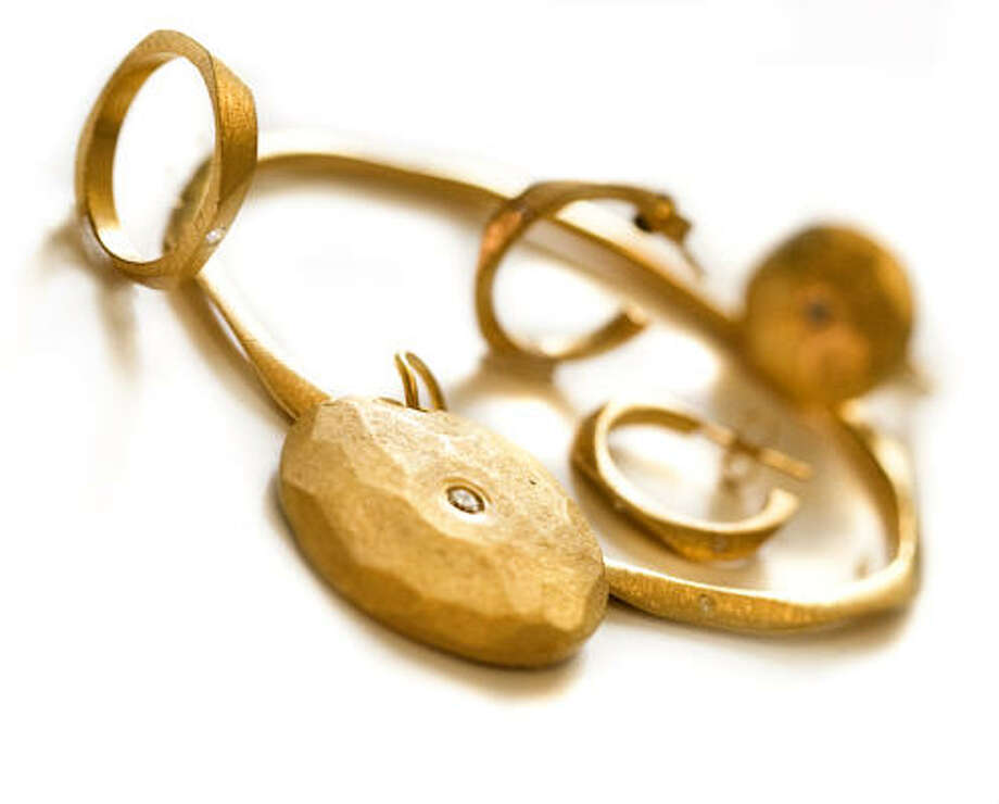 Some of Via Vandi's jewelry designs have a primitive vibe. Photo: Vandi Hodges