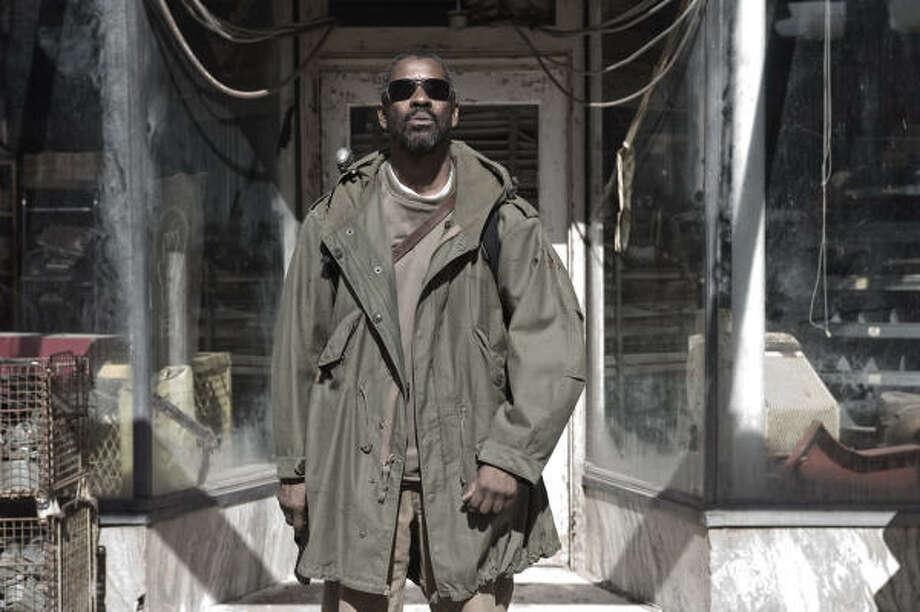 "Denzel Washington stars in ""The Book of Eli."" Photo: David Lee"