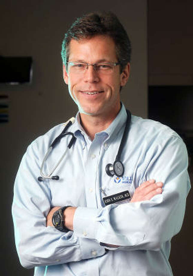 Dr. John Walker of The Woodlands says communication between doctor and patient is a two-way street. Photo: Dave Rossman, For The Chronicle