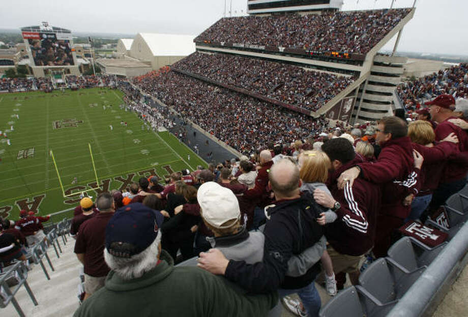Texas A&M defensive coordinator Tim DeRuyter will experience his first Aggies home game Saturday. Photo: Julio Cortez, Chronicle