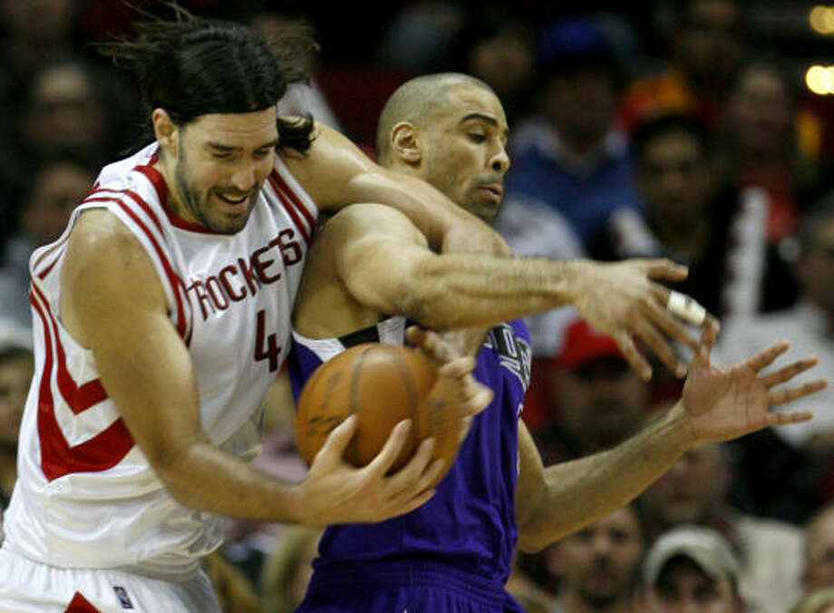 Luis Scola and the Rockets Rockets have not had a winning streak longer than two games in 2010. Photo: Karen Warren, Chronicle