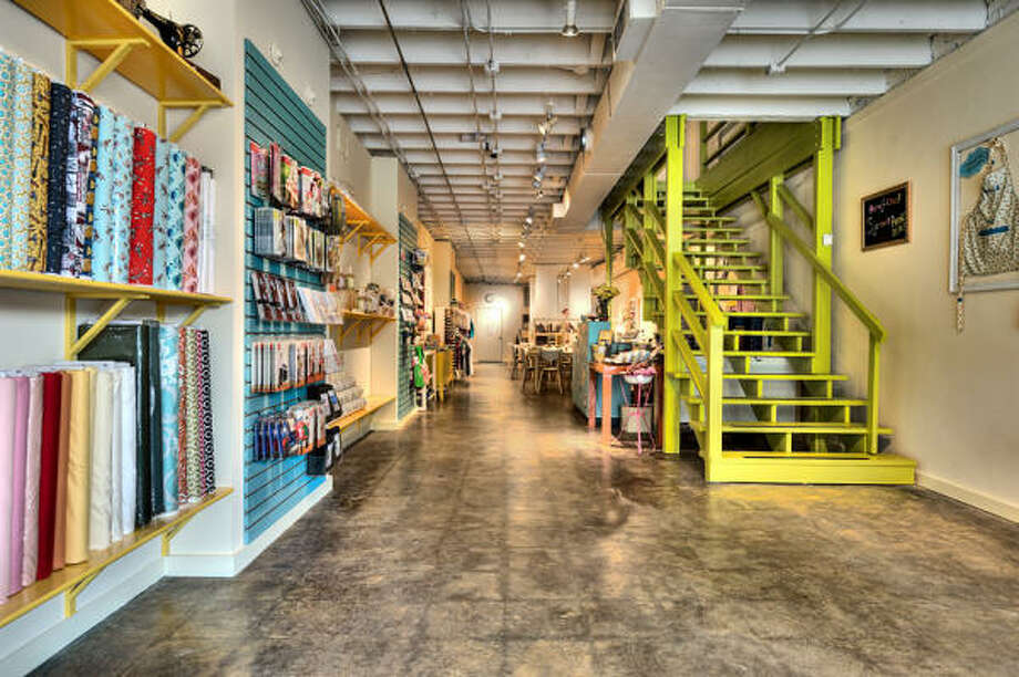 """Sew Crafty owner Sarah Gabbart said she wanted  to create a """"cohesive crafting community."""" Photo: Sew Crafty"""