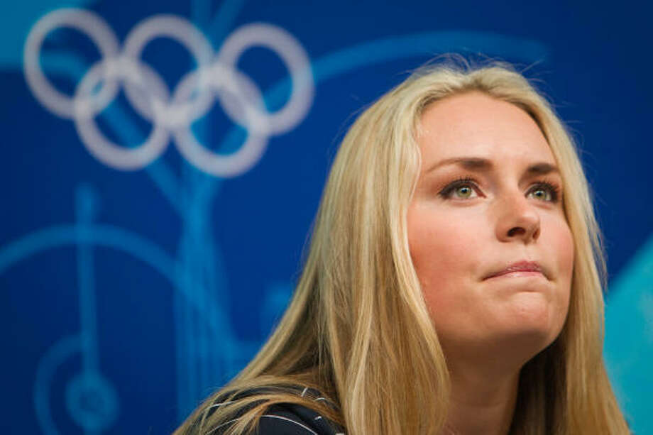 US alpine skier Lindsey Vonn dropped a bombshell on the upcoming Olympics with her announcement. Photo: Smiley N. Pool, Chronicle