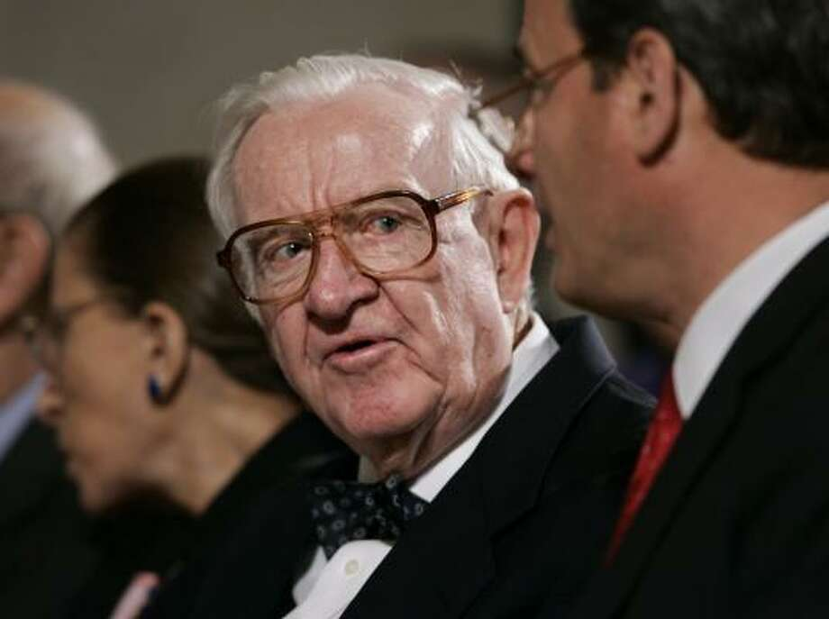 Supreme Court Justice John Paul Stevens, set to retire soon from the court, has been called a 'friend of church-state separation.' Photo: J. SCOTT APPLEWHITE, ASSOCIATED PRESS