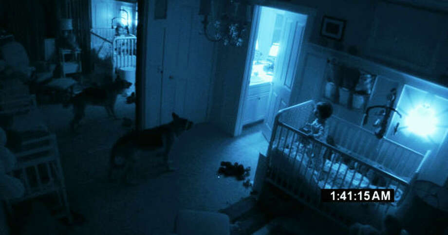 The infant and the dog aren't the only ones in the room in Paranormal Activity 2. Photo: Paramount Pictures